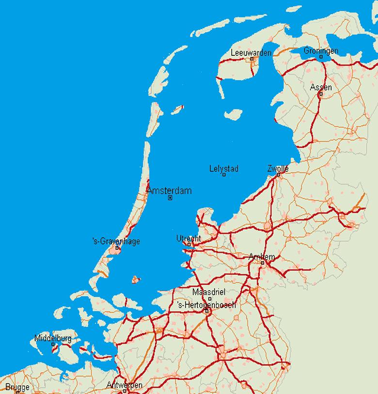 海抜ゼロメートルの国、オランダ