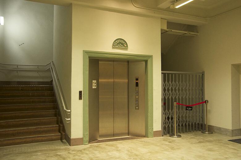 KIITO内エレベーターホール