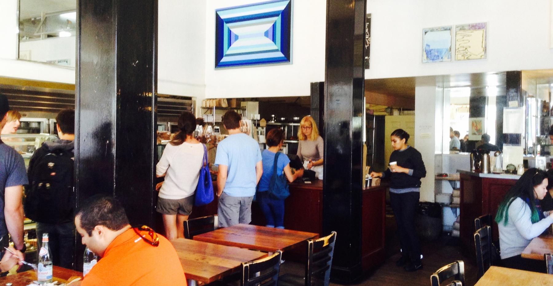 サンフランシスコの人気店 TARTINEは看板のないベーカリー