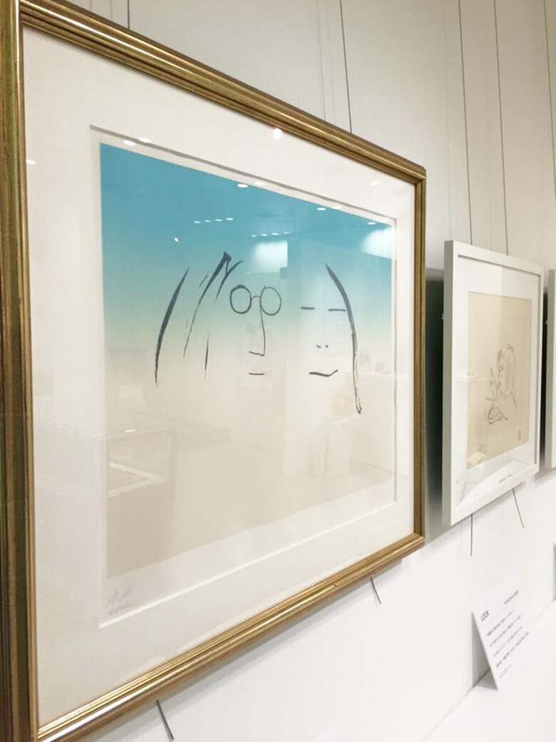 引用元:ジョンレノン絵画展2015公式Facebookページ