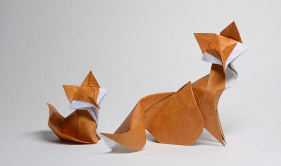Origami Swan With Rectangular Paper