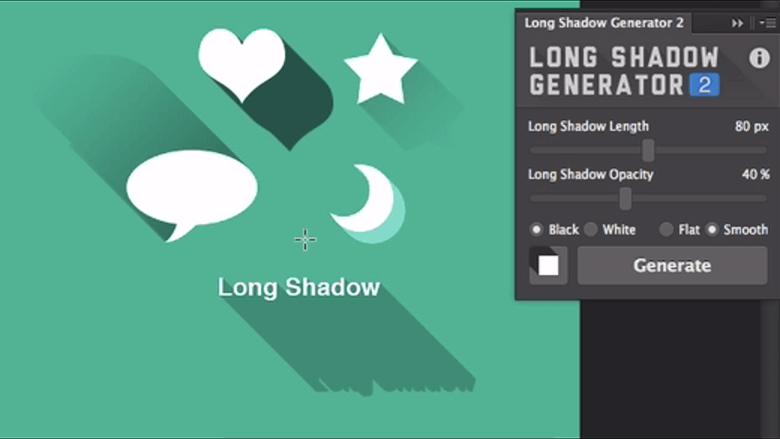 引用元:Long Shadow Genarator