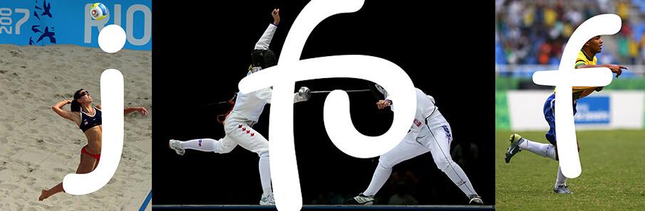 躍動感あふれる「Rio 2016 font」の着想の源泉