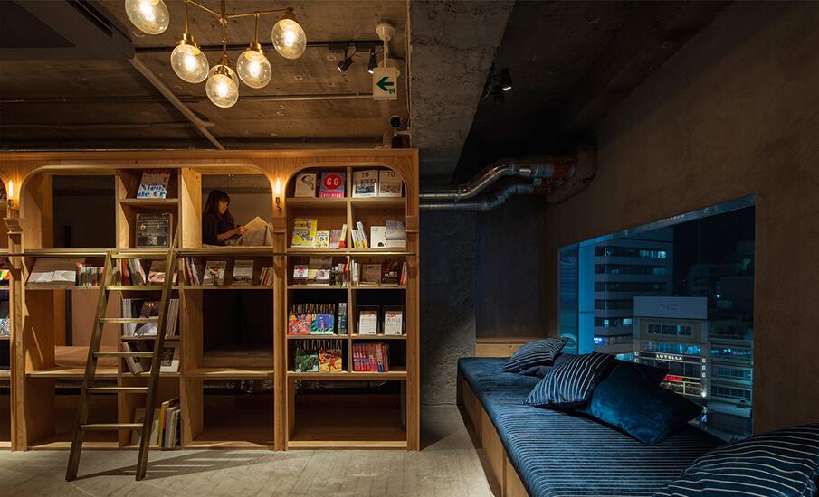 本好きにはたまらない!「BOOK AND BED TOKYO」で 至福の寝る体験を