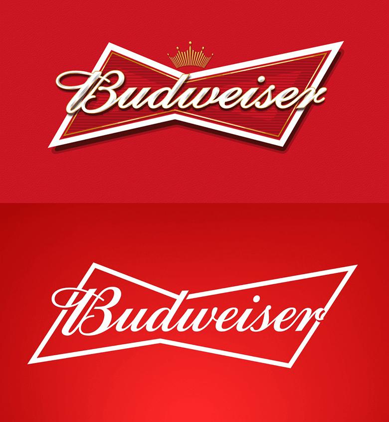 上:旧ロゴマーク 下:リニューアル後のロゴマーク(共に引用元:design WEEK 公式サイト)