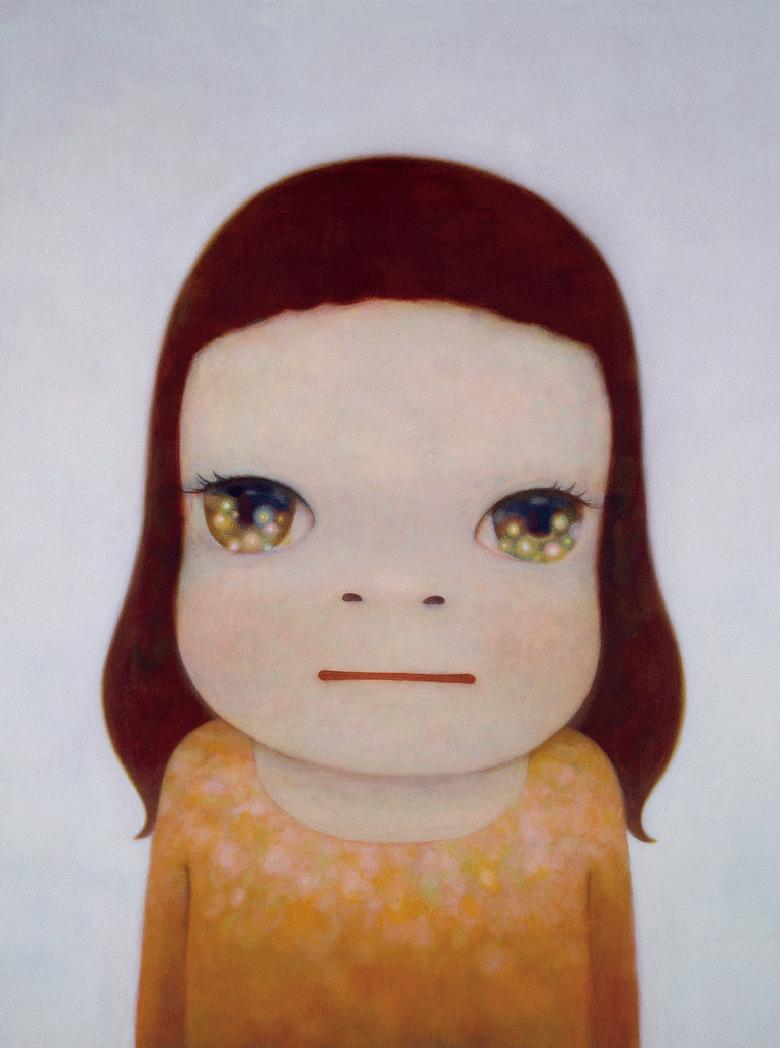 奈良美智 《Cosmic》 Acrylic on canvas 291.0 x 218.5 cm 2007 © Yoshitomo Nara