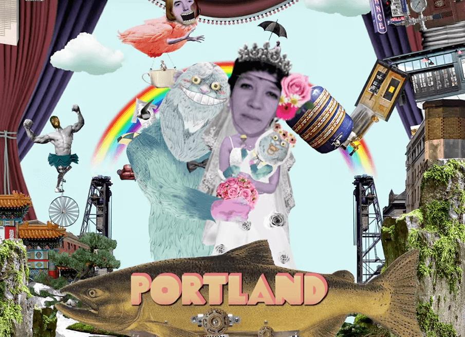 ポートランドの魅力を擬似体験できる「ODNAROTOOP」