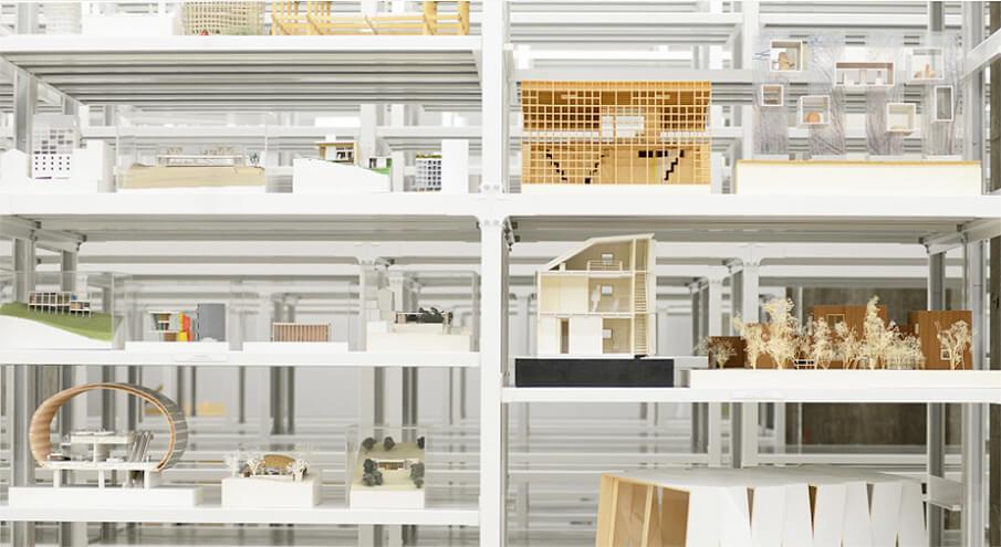 建築模型に特化したミュージアム「建築倉庫」が東京・天王洲にオープン