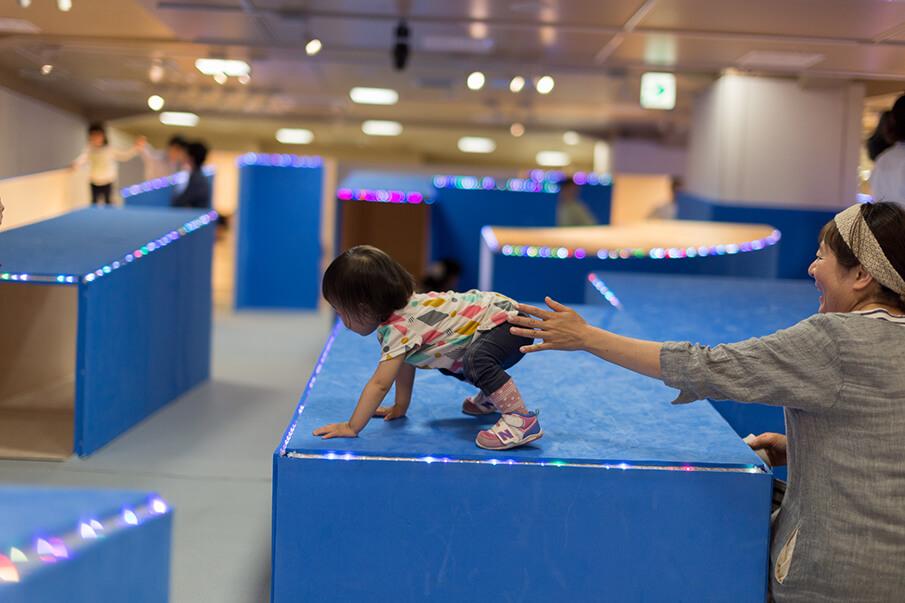 創造性を育む遊び場 </br>YCAMの「コロガルガーデン」