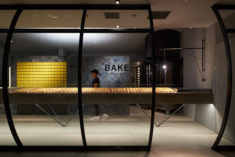 BAKE CHEESE TART FUKUOKA / interior_2015 PHOTO:Ikunori Yamamoto