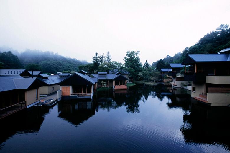 星のや 軽井沢 引用元:東 環境・建築研究所 公式サイト