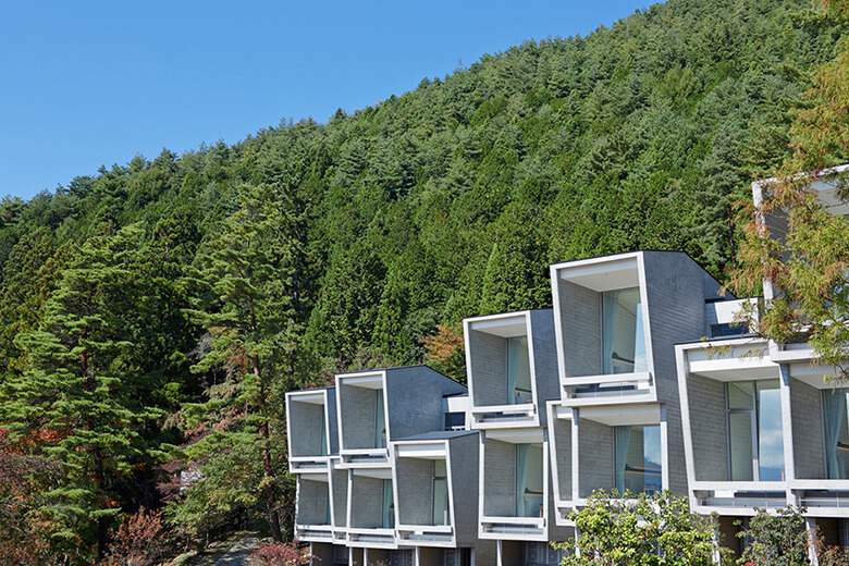 星のや 富士 引用元:東 環境・建築研究所 公式サイト