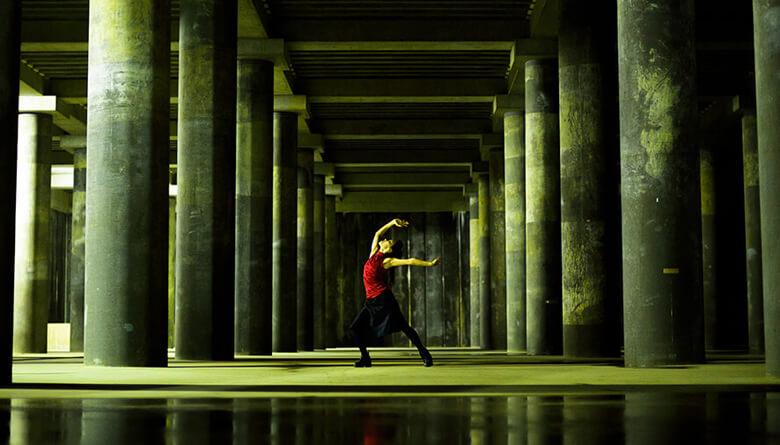場所:山王2号雨水調整池 撮影:富永亜紀子