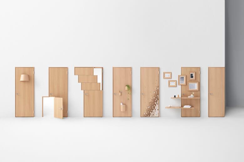 seven doors 引用元:nendo 公式サイト