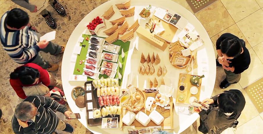 「皿の上の九州」で九州のおいしい食、うれしい道具を知る。