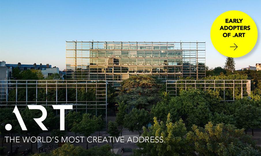 アート界に特化した世界初ドメイン「.ART」が誕生!