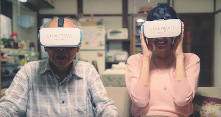 VRで世界旅行を楽しむ「SYNC TRAVEL」