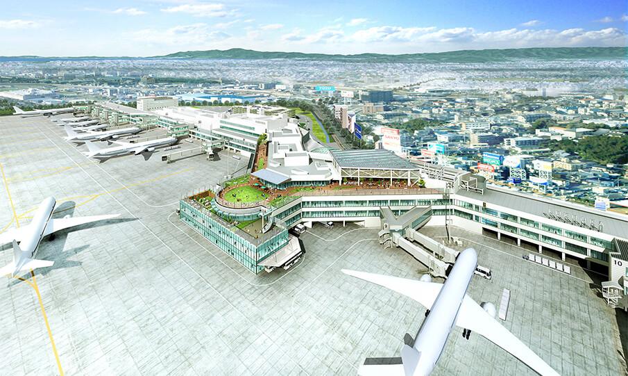 「PORTからPARKへ。」福岡空港は新たな魅力を持つ空港に