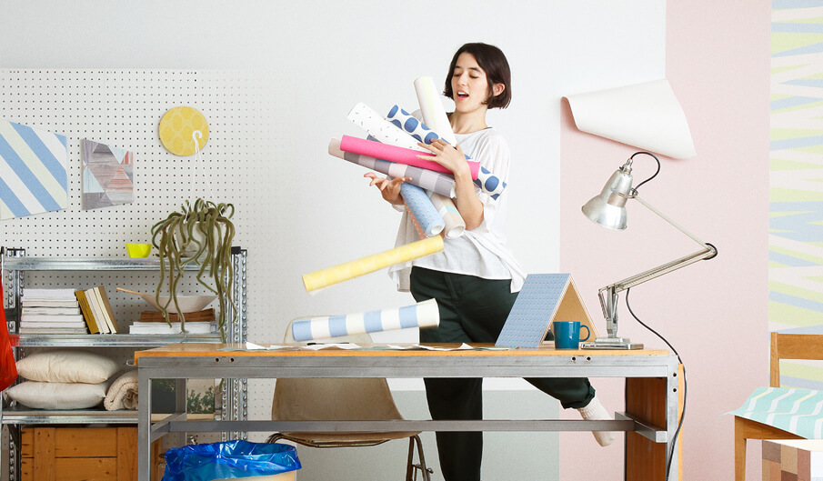 ファッション感覚で空間を演出する、壁紙ブランド「WhO」
