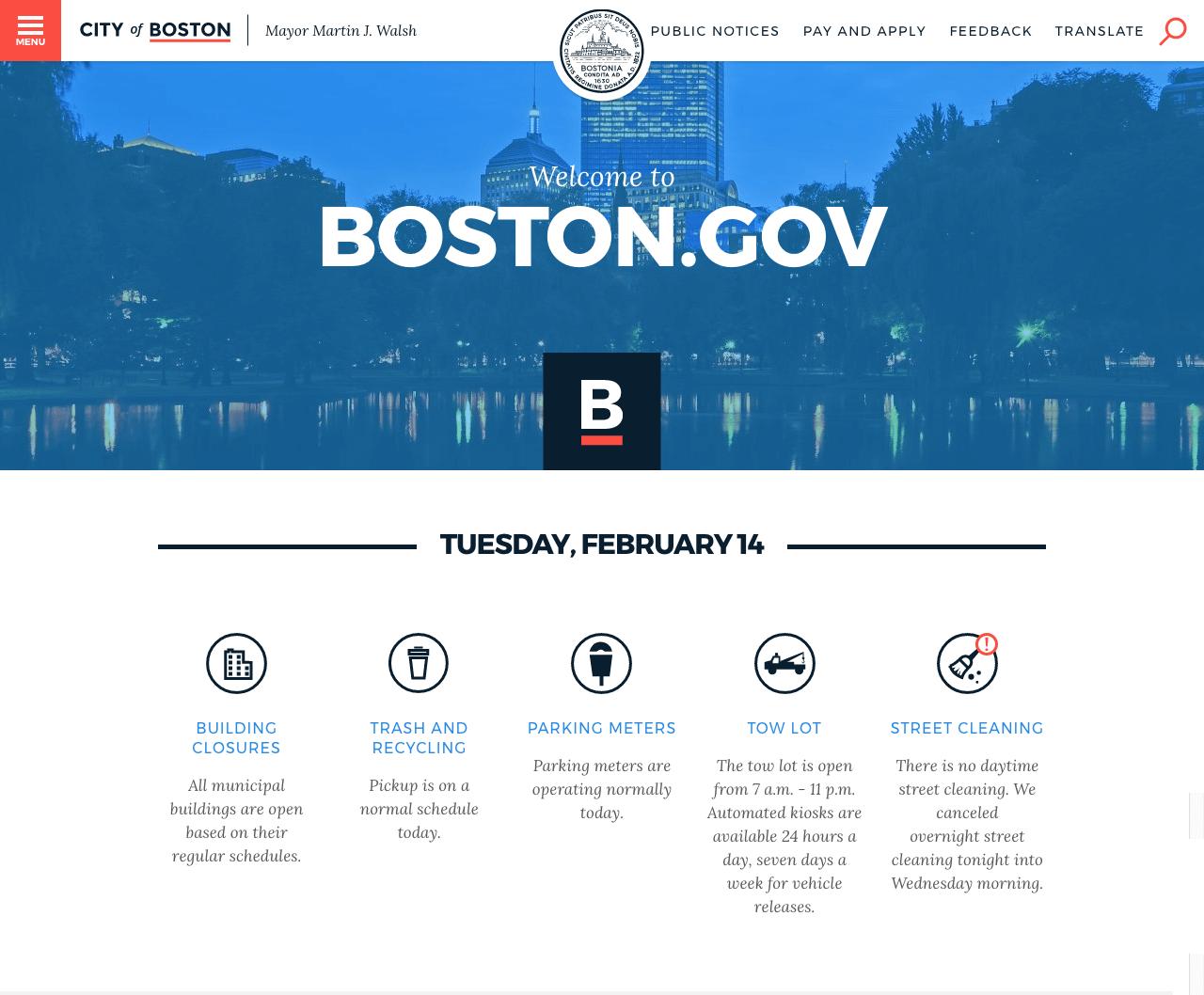 引用元:BOSTON.GOV 公式サイト
