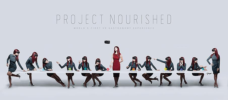 未来の食事を変える「Project Nourished」で広がるVRの可能性
