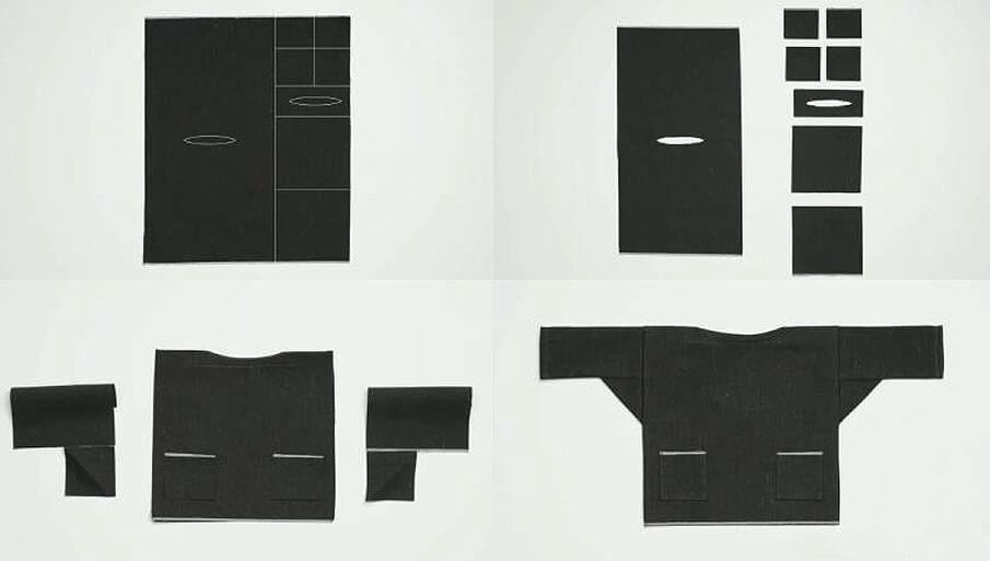 着物のように無駄なく衣服を作る。中川政七商店の「直線裁ちの服」