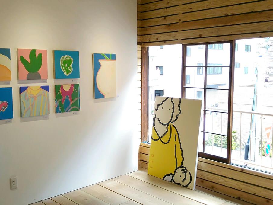 作家が暮らしながら展示できるギャラリー「ondo STAY&EXHIBITION」