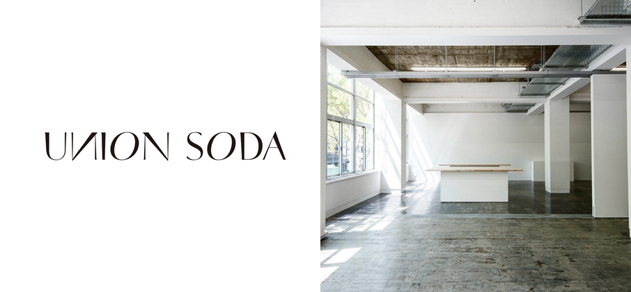 天神のど真ん中に、突如現れたプロジェクトスペース「 UNION SODA 」