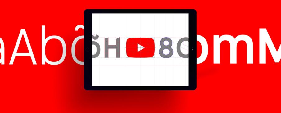 新たなフォントによる「YouTube」のリブランディング