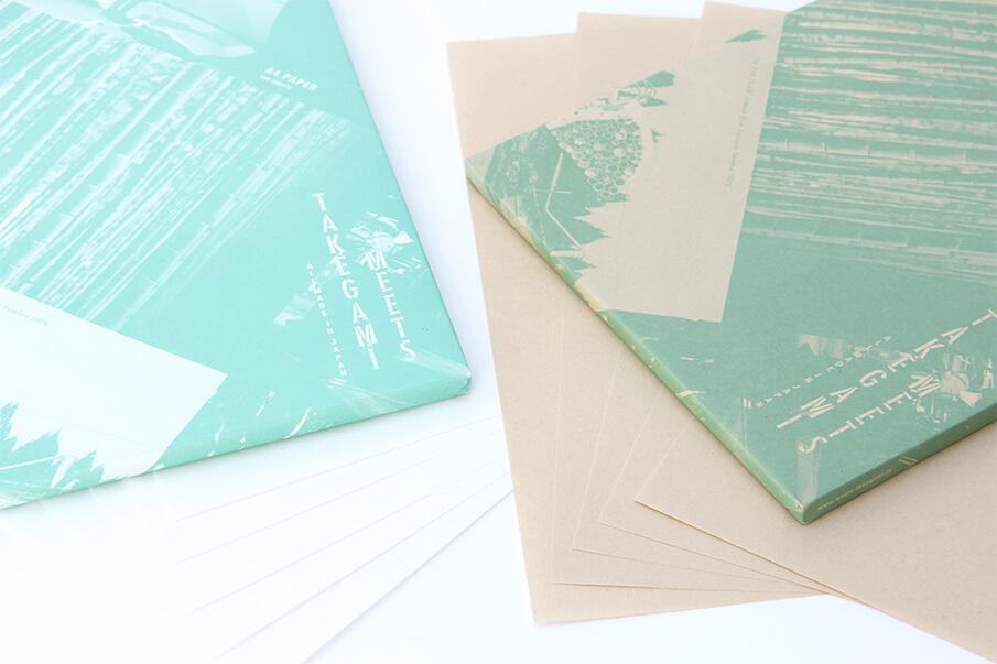 日本の竹でつくられた紙・竹紙のプロダクトブランド「MEETS TAKEGAMI」