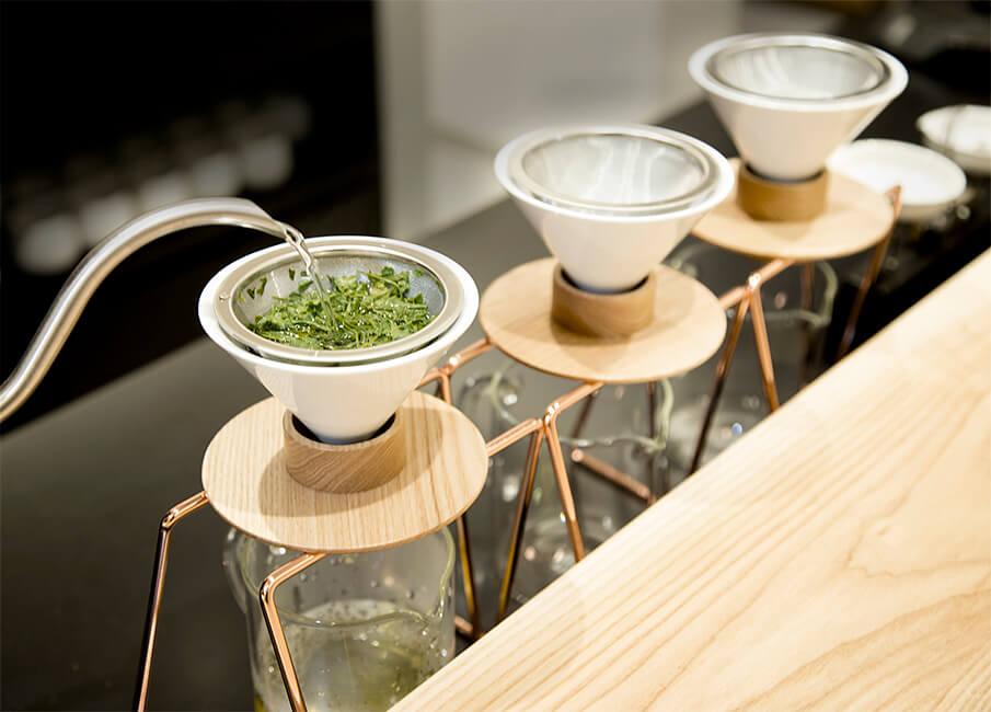日本茶をダイレクトに味わう。世界初のハンドドリップ日本茶専門店