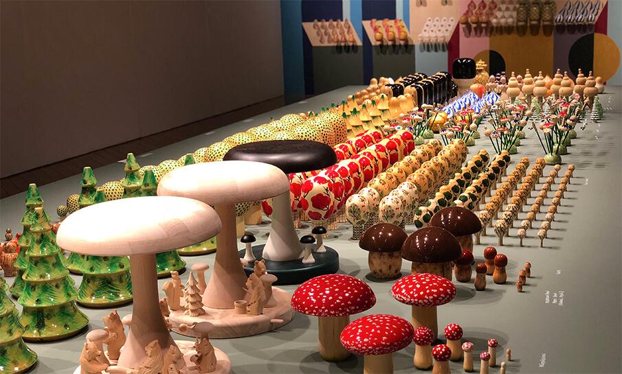 伝統工芸の新たな魅力「SECRETS FROM FOREST 森のヒミツ COMPANY展」