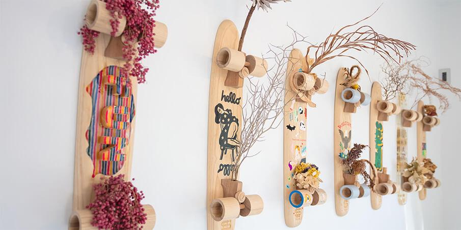 伝統工芸・静岡挽物と西海岸のカルチャーを融合させた「SEE SEE」
