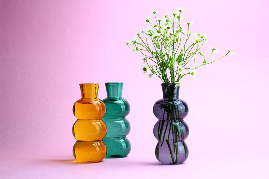 ガラスの美しさが際立つデザインを。ガラス作家夫婦の冒険心から生まれた「TOUMEI」