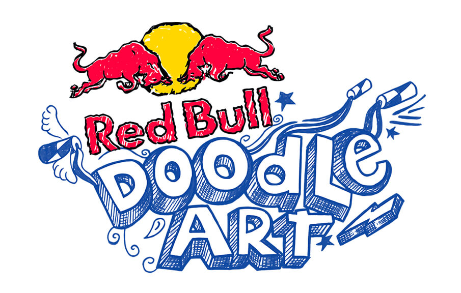 落書きもアート!『Red Bull Doodle Art』でアートへの翼をさずける