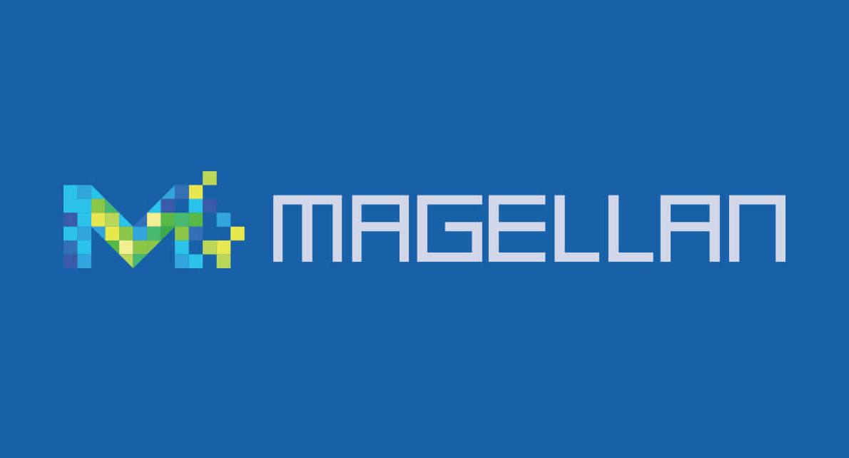 株式会社グルーヴノーツ様のモバイルアプリケーション開発におけるクラウドプラットフォーム「MAGELLAN」の ロゴ、Webサイト、グッズを制作させて頂きました。
