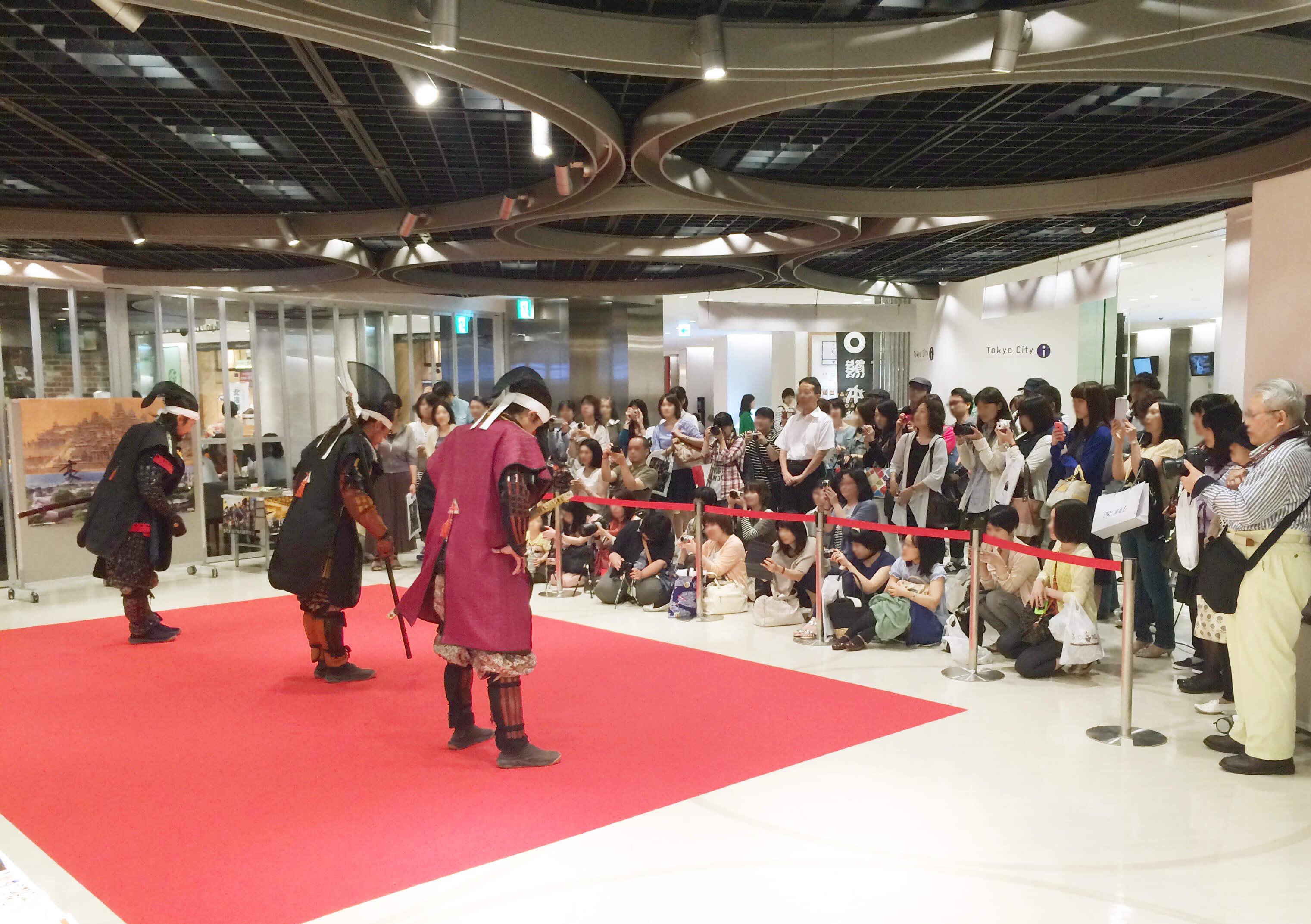 JTB熊本支店様が事務局を務める「熊本市ふるさと旅行券」におけるイベント  「来なっせ!熊本市もてなす券発売プレキャンペーンin東京」の事前制作、実施運営をさせて頂きました。
