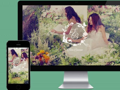 We designed a website for Fiore Bianca , produced by Dress the Life.