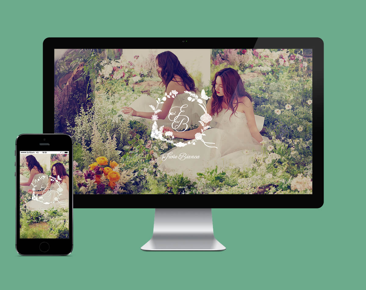 """<p> <p class=""""p1""""><span class=""""s1"""">We designed a website for Fiore Bianca , produced by Dress the Life.</span></p> <p></p>"""